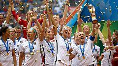 EE.UU arrolla a Japón y gana su tercer Mundial