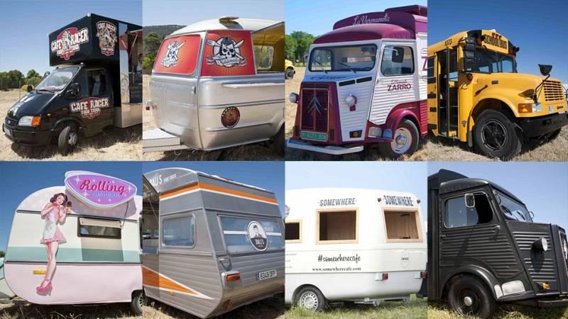 Cocineros al Volante - ¿Quieres echar un vistazo en el interior de los Food Trucks? ¡Abel Arana se cuela en ellos para enseñárnoslos!