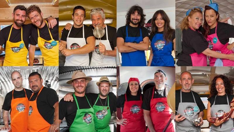 Cocineros al Volante - Conoce a fondo a los concursantes de 'Cocineros al Volante' de la mano de Abel Arana