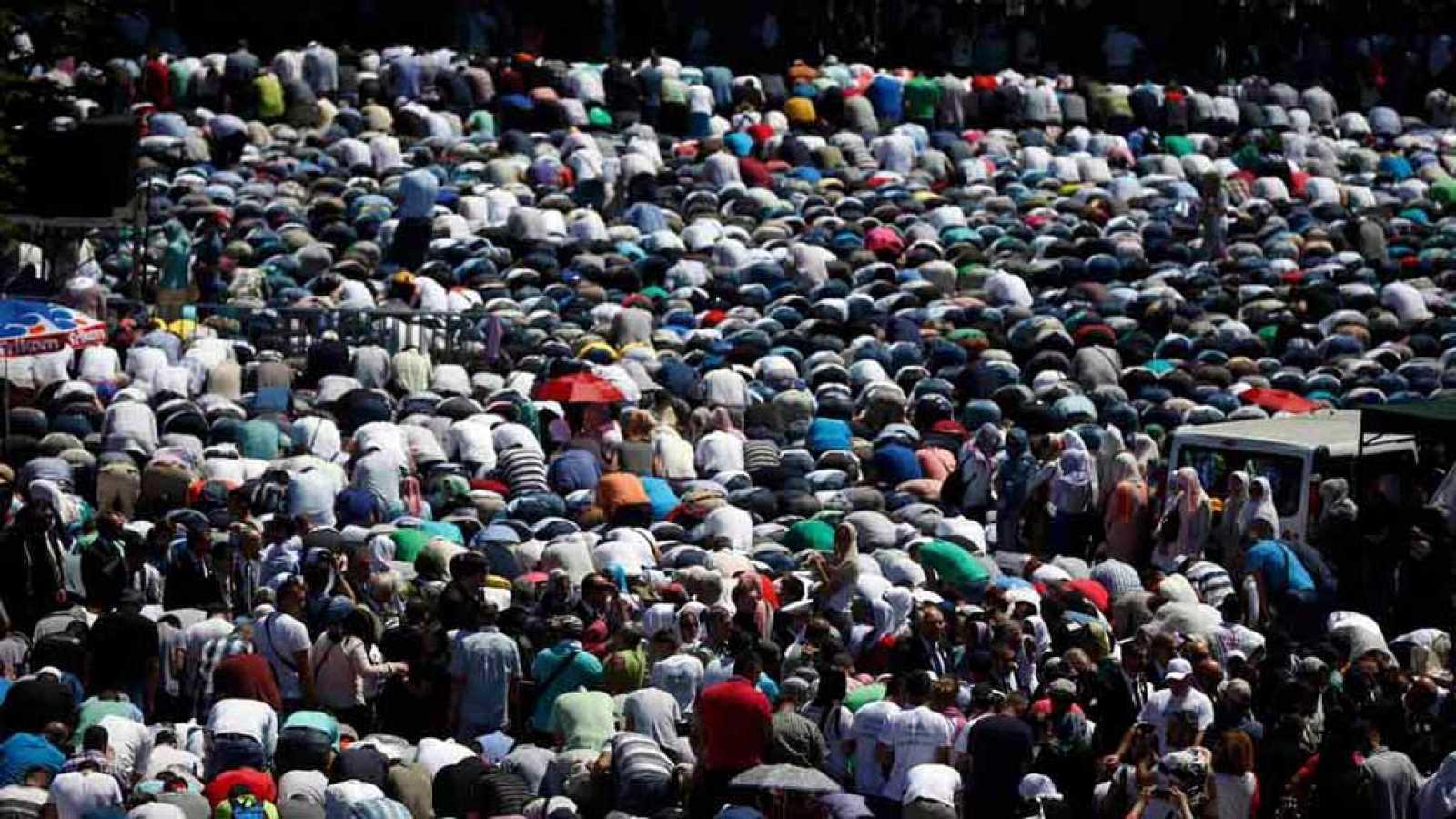 Conmemoración del vigésimo aniversario de la matanza de Srebrenica