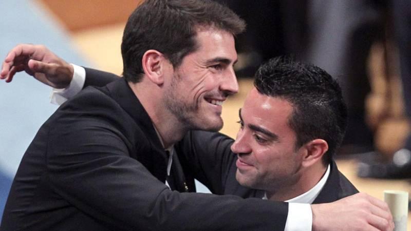 Casillas y Xavi, dos amigos y dos formas distintas de dejar su club
