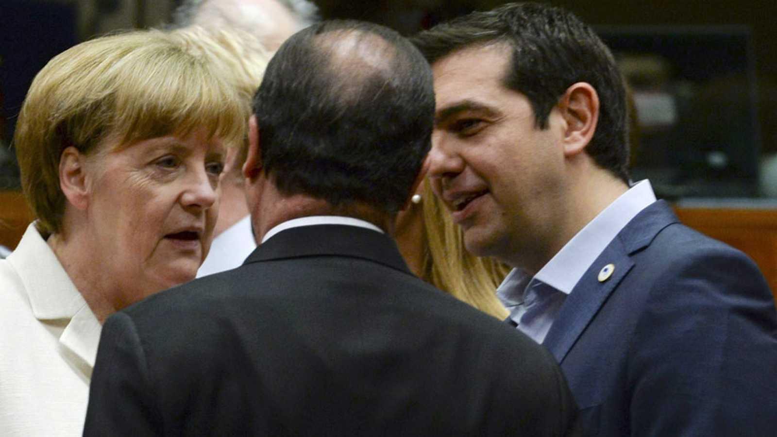 Alemania dice que lo mejor es que hay acuerdo y Francia celebra que Grecia siga en el euro