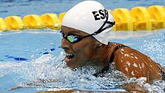 Teresa Perales logra su primer oro en el Mundial paralímpico en Glasgow