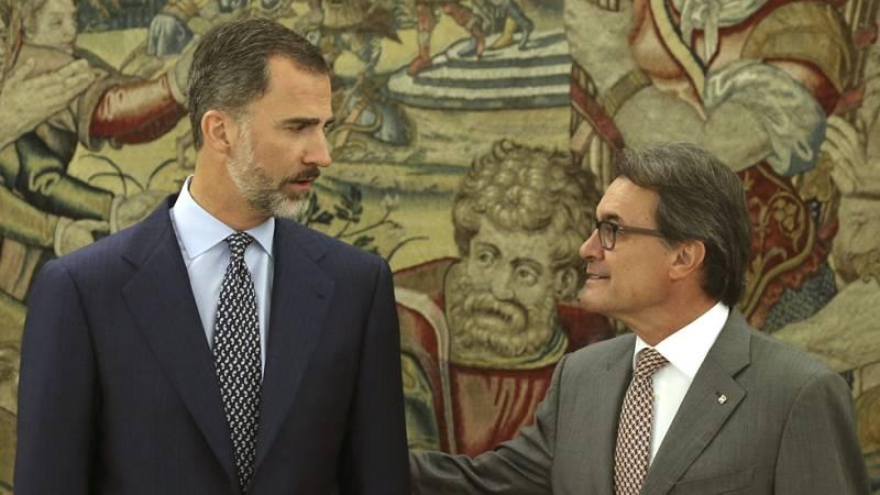 """Artur Mas, a su llegada a Zarzuela: """"Vengo en son de paz"""""""