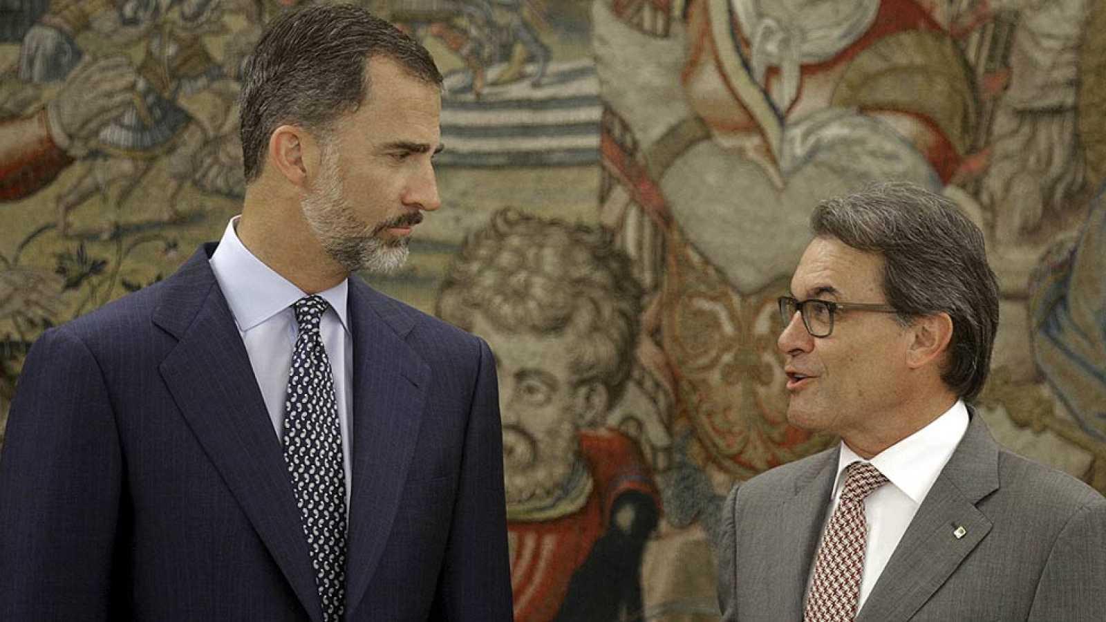 """Artur Mas a su llegada a Zarzuela: """"Vengo en son de paz"""""""