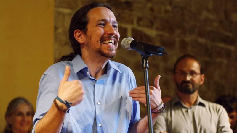 Pablo Iglesias presenta su candidatura con ICV-EUiA