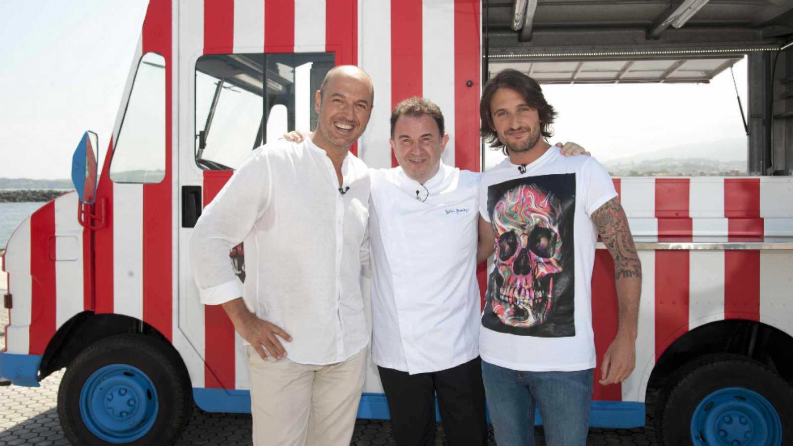 Cocineros al Volante - Martín Berasategui nos enseña a cocinar una merluza en salsa verde