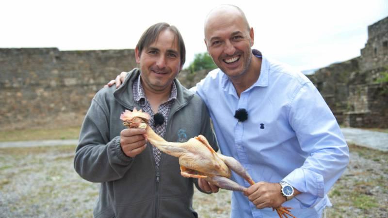 Cocineros al Volante - Aprendemos a cocinar pollo de sobrarbe al chilindrón con Ricardo Azón