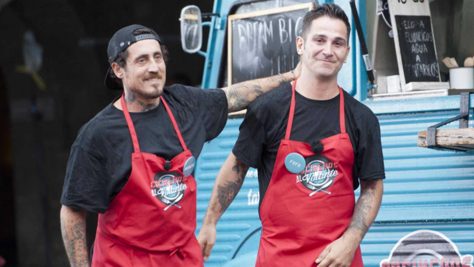 Cocineros al Volante - Brilla Bombilla, la cuarta pareja eliminada de 'Cocineros al Volante'