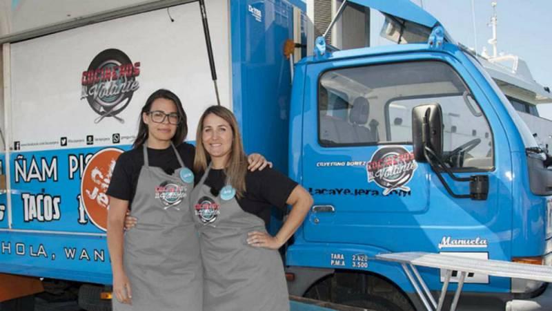 Cocineros al Volante - La Cayejera, el nuevo equipo de la 'retaguardia'