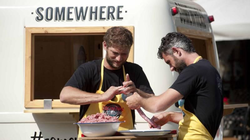 Cocineros al Volante - ¿Quién tiene la longaniza más larga?