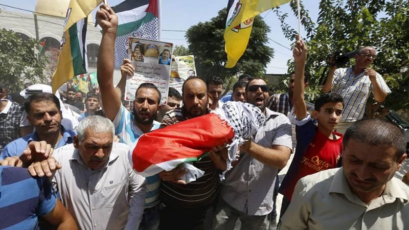 Enfrentamientos en Cisjordania tras la muerte de un bebé palestino en un incendio provocado