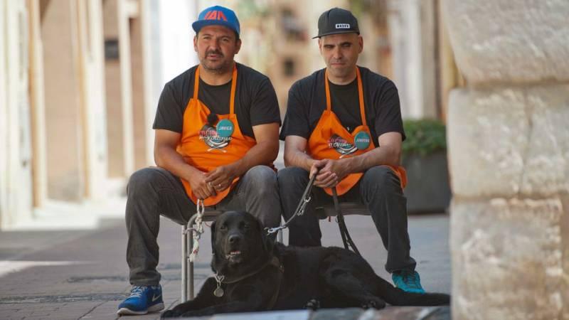 Cocineros al Volante - Jonatan, emocionado por la ayuda de Javier y los vecinos de Cambrils