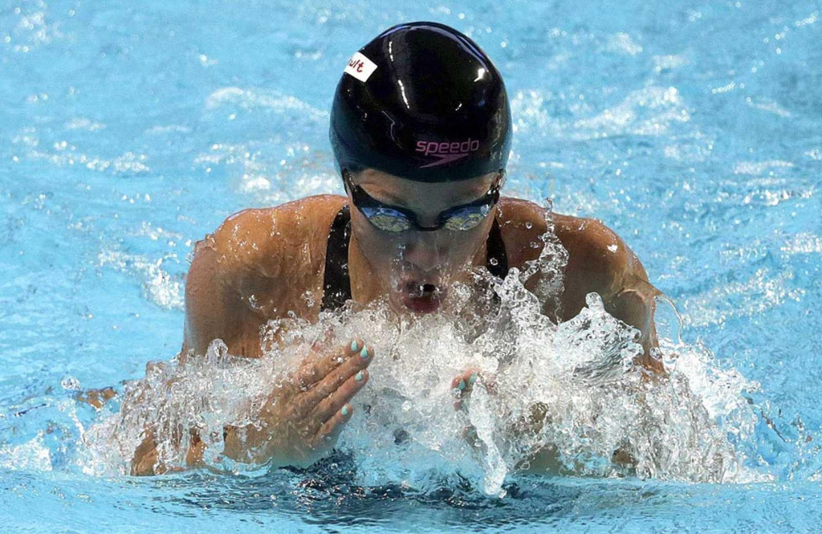 Jessica Vall, bronce en los 200m braza