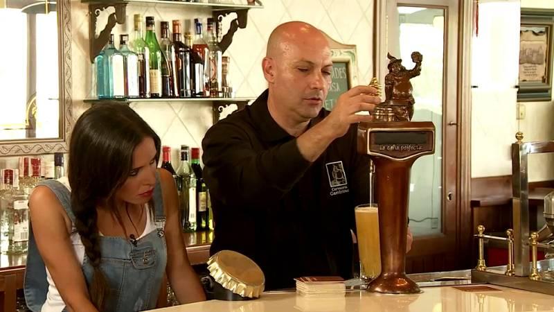 Cocineros al Volante - Aprendemos a tirar cerveza en Cervecería Gambrinus