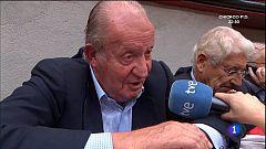 """Rey Juan Carlos: el toreo """"es un activo de España y tenemos que apoyarlo"""""""