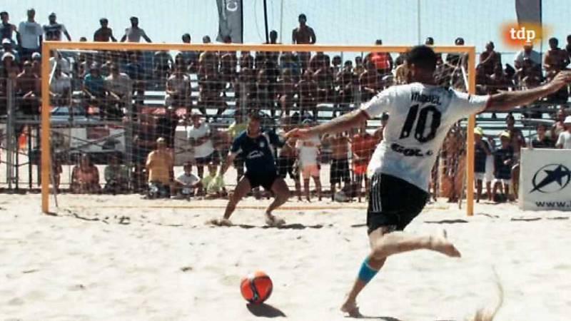 Fútbol playa - Circuito nacional. Resumen - ver ahora