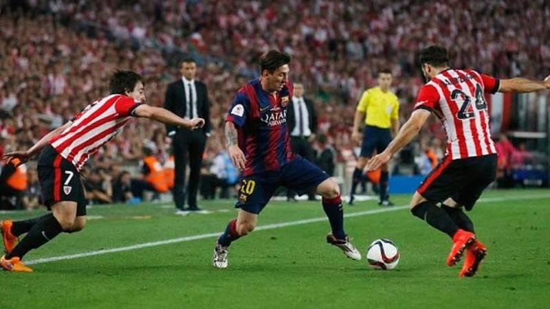 Barcelona y Athletic se juegan la Supercopa de España