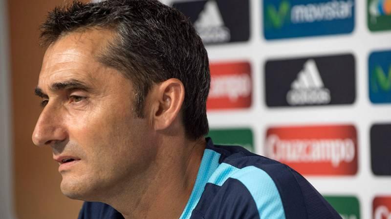 El entrenador del Athletic, Ernesto Valverde, ha resaltado la importancia que puede tener conseguir un título 31 años después si se apuntan la Supercopa contra el Barcelona.