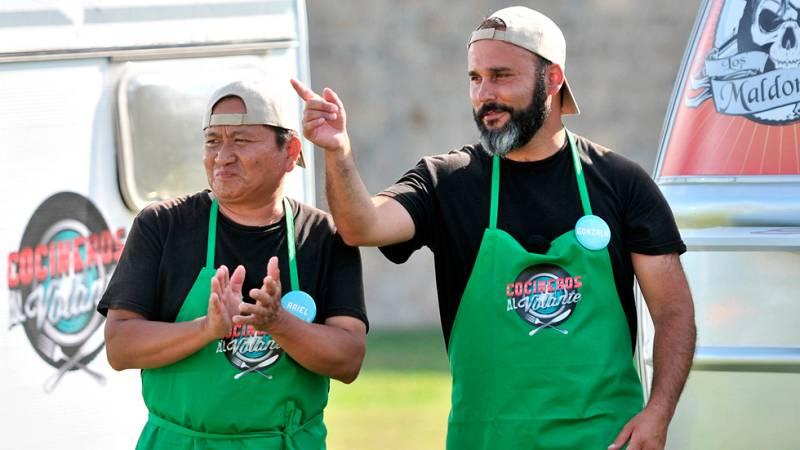 Cocineros al Volante - 'El Kiosko', sexta pareja eliminada de 'Cocineros al Volante'