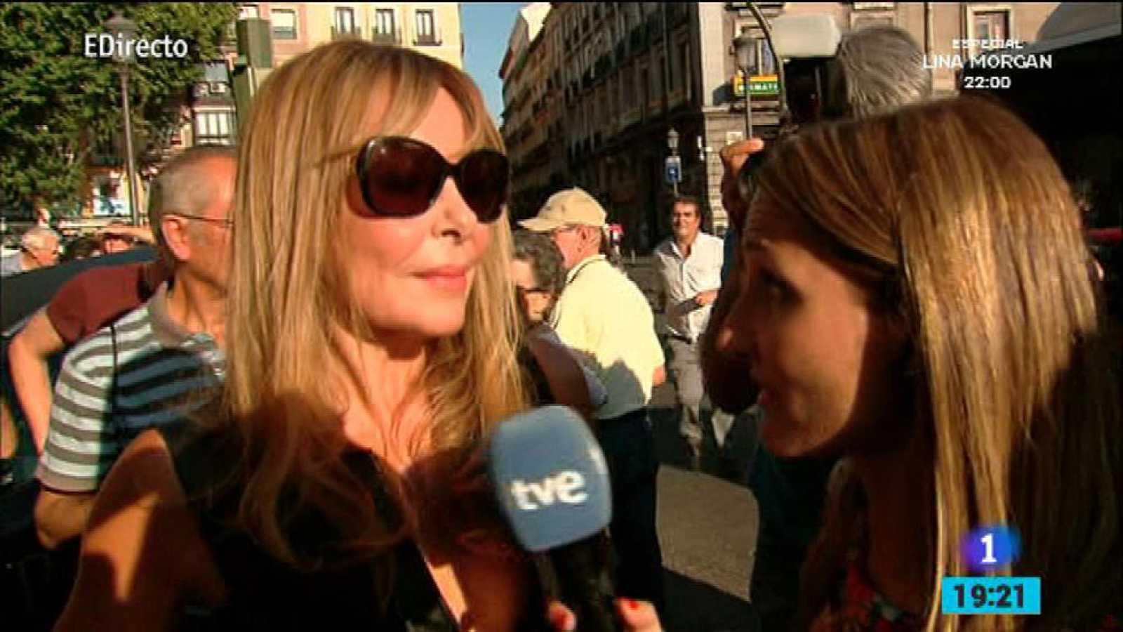 España Directo - Ana Obregón se emociona al hablar de Lina Morgan