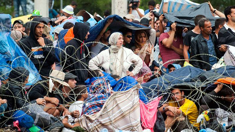 Crisis migratoria en Macedonia