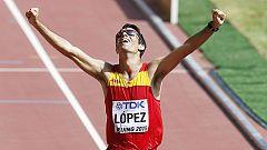 Miguel Ángel López logra el oro en 20 kilómetros marcha en Pekín