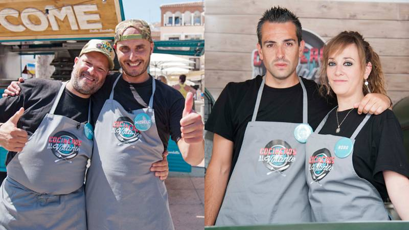 Cocineros al Volante - Papamóvil y Feeling Food, eliminados en la semifinal de 'Cocineros al Volante'