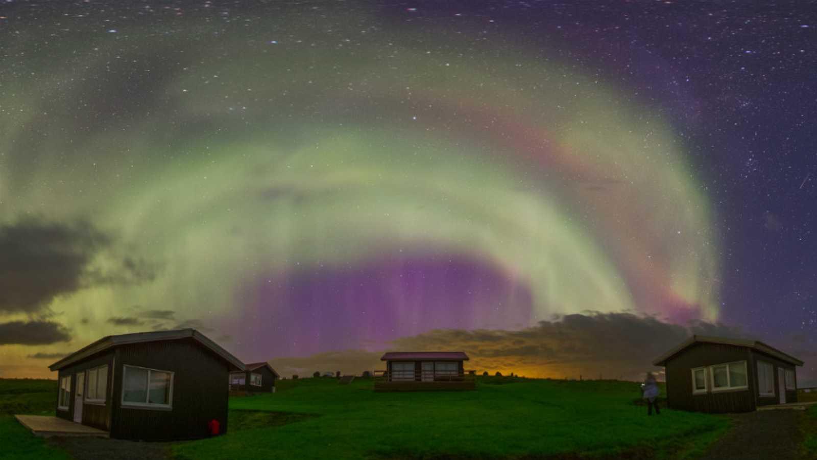 Auroras boreales 2015 de Islandia en agosto