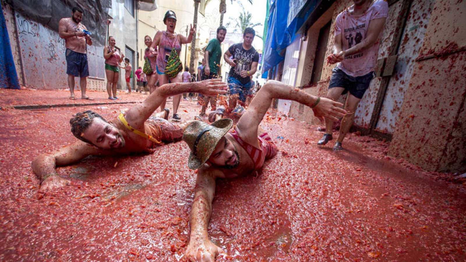 La Tomatina, la gran batalla del tomate