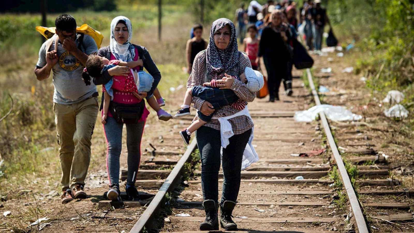 Desbordada la ruta de los Balcanes en la mayor crisis migratoria en Europa desde la Segunda Guerra Mundial