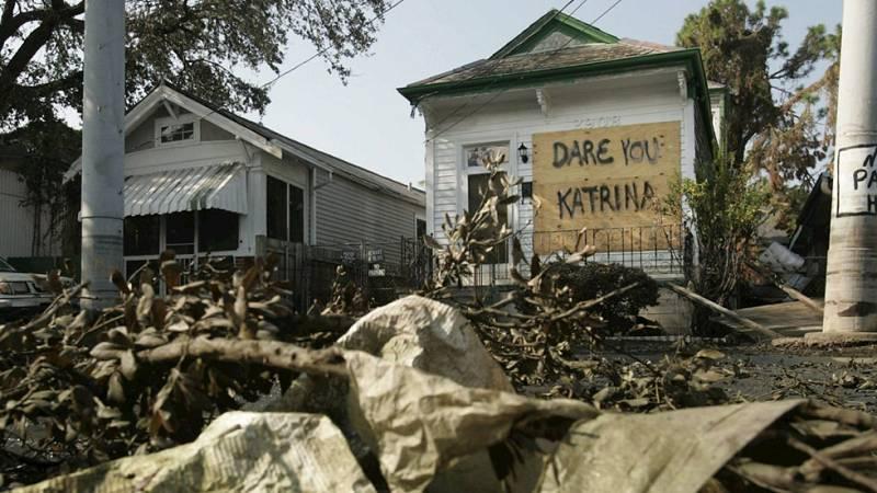 El huracán Katrina se convirtió en uno de los peores desastres naturales de Estados Unidos, murieron más de 1.800 personas