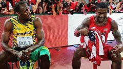 Bolt vuelve a ganar el duelo con Gatlin en los 200