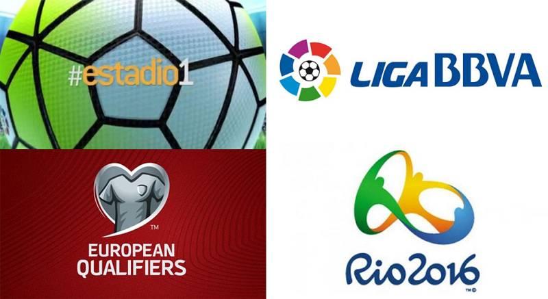 RTVE continúa fiel a su compromiso de servicio público con la promoción de todos los deportes. Un compromiso que esta temporada se ha visto potenciado en el fútbol con la emisión cada semana de un partido en abierto de LaLiga BBVA y la Copa del Rey.