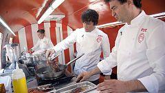 La mañana - El jurado de MasterChef en la gran final de 'Cocineros al volante'
