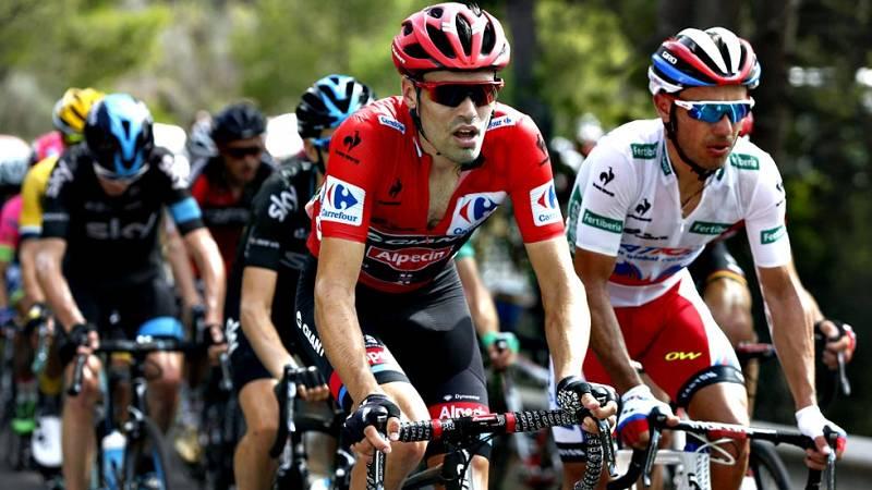 El pelotón de la Vuelta 2015 se tomará este martes su primera jornada de descanso tras el traslado desde Castellón y a la espera de la etapa reina de Andorra, la jornada con seis puertos de montaña que marcará el futuro de la carrera.