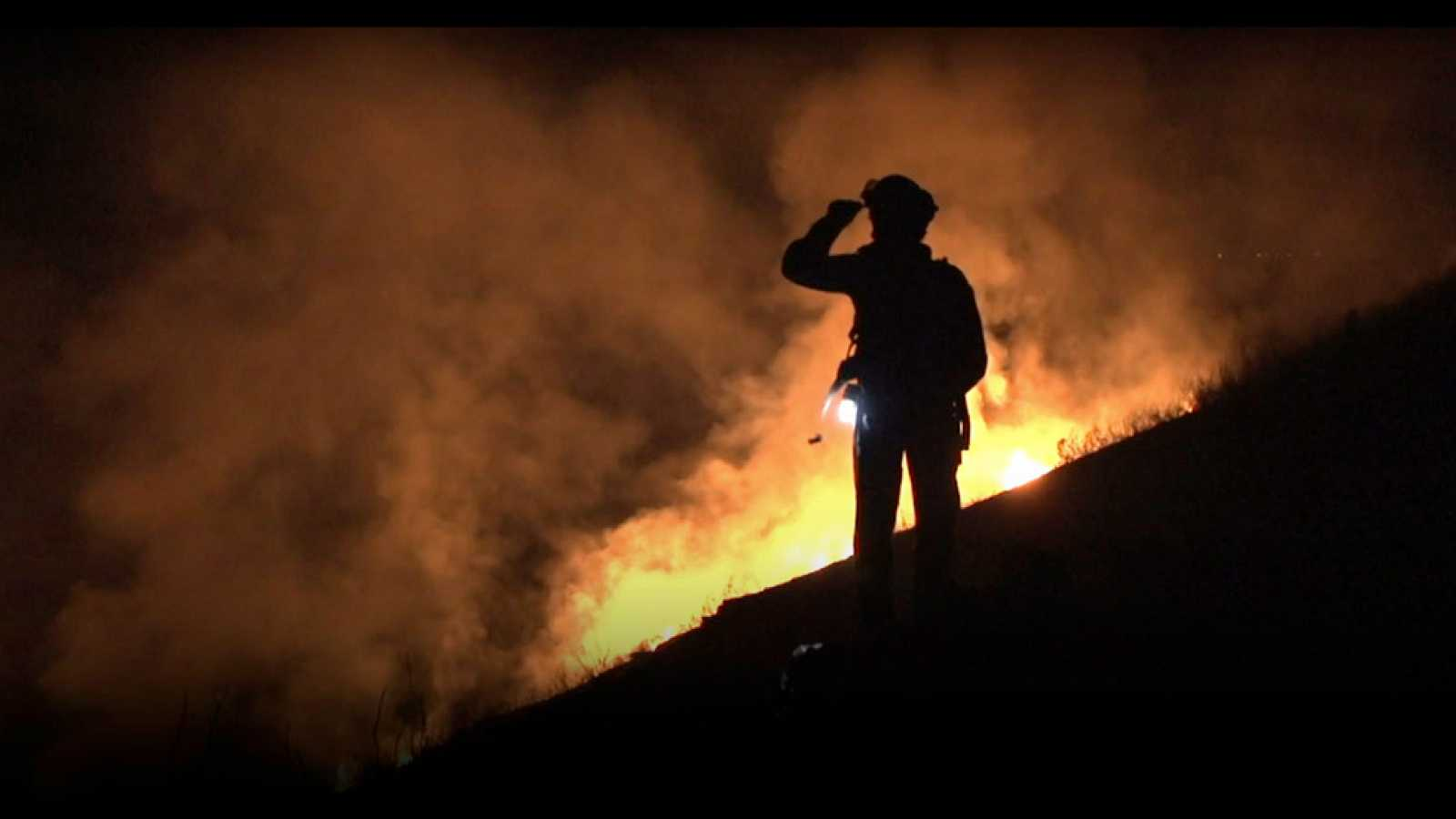 'La vida en llamas'