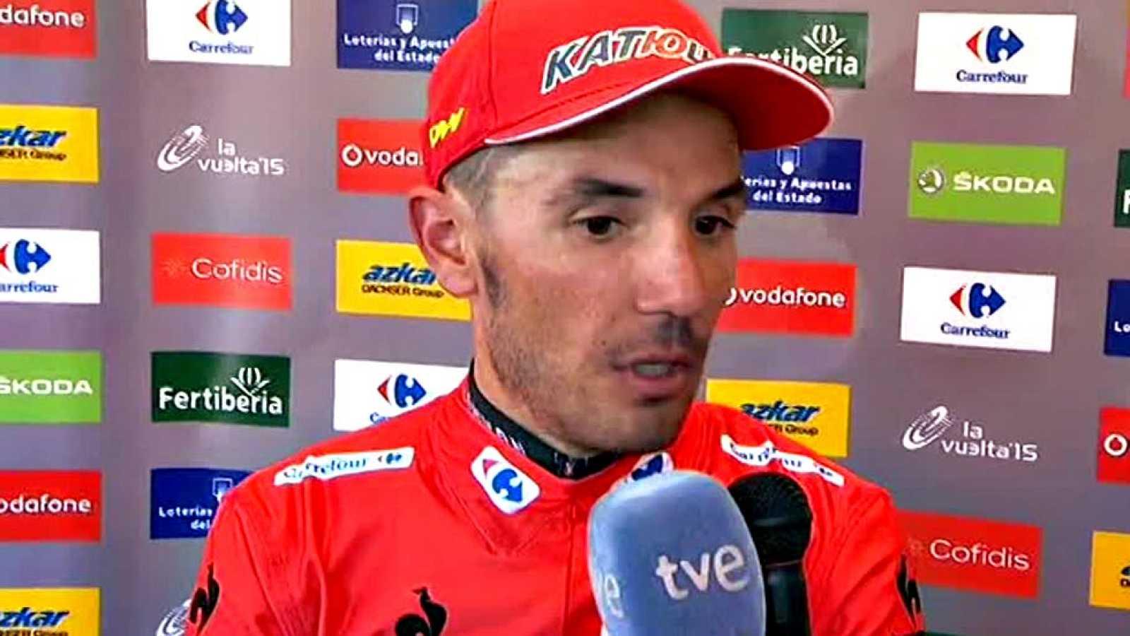 El flamante líder de la Vuelta considera que su renta sobre el holandés no es suficiente de cara a la contrarreloj de Burgos.