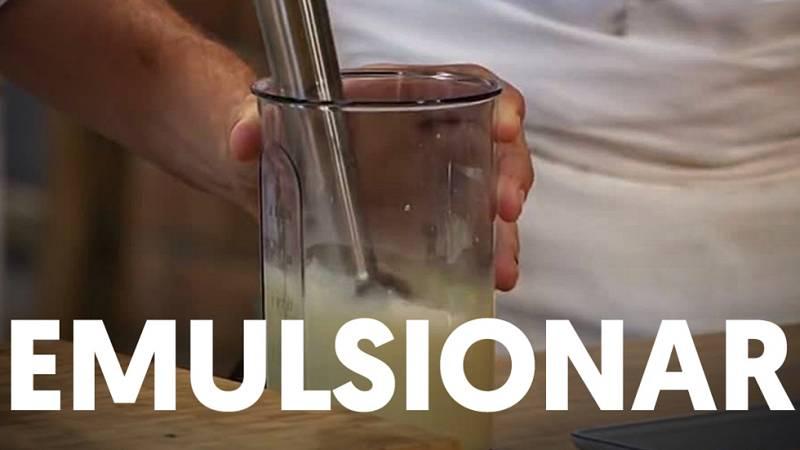 Universo Torres: Emulsionar