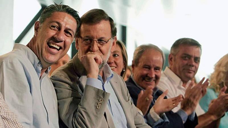 """Rajoy: """"Yo quiero dialogar pero no aceptar las imposiciones de autorizar un referéndum ilegal"""""""