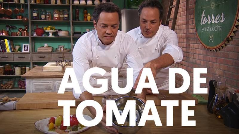 Receta de agua de tomate