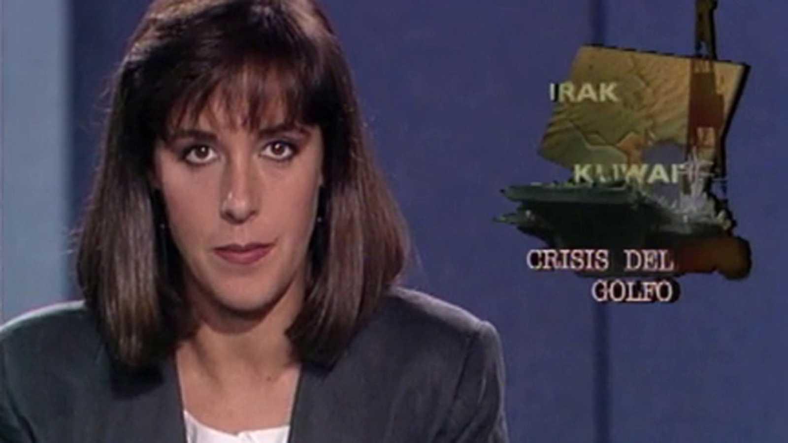 El Telediario homenajea a Ana Blanco el día que cumple 25 años como presentadora del TD