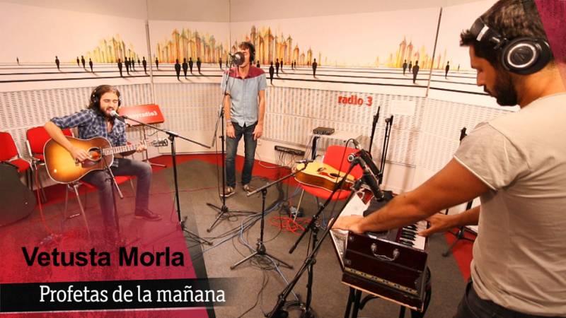 Vetusta Morla - 'Profetas de la mañana' - 18/09/15 - Ver ahora