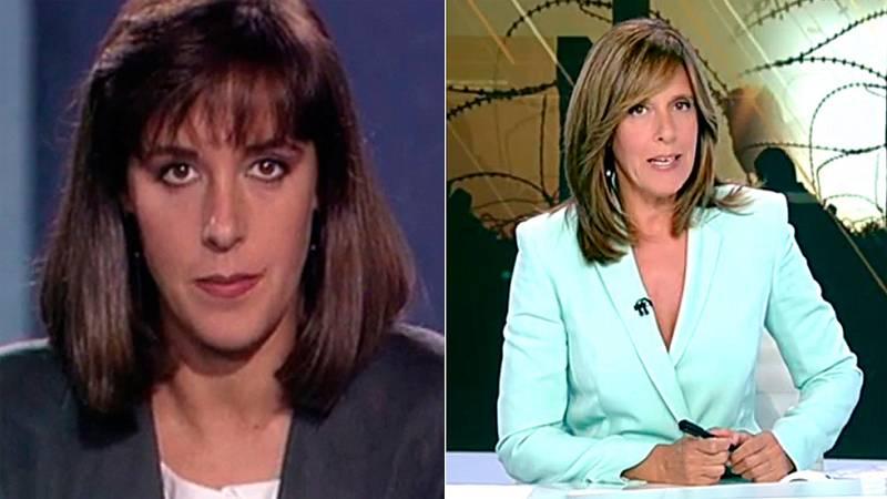 Ana Blanco cumple 25 años como presentadora de los Telediarios de TVE