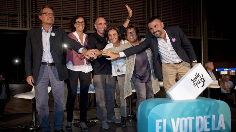 Las palabras de Obama siguen centrando los mensajes de la campaña de las elecciones catalanas