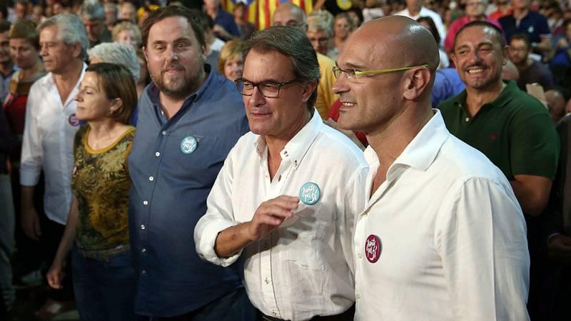 """Junts pel Sí pide a los catalanes un """"acto de autoafirmación por la libertad"""" de Cataluña"""