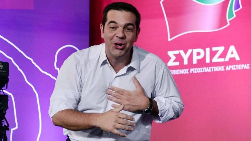 Alexis Tsipras, implicado en política desde joven