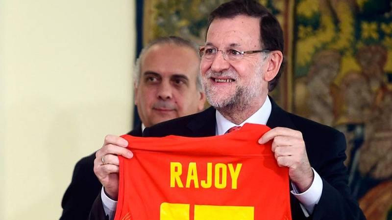 """Rajoy: """"Habéis hecho felices a mucha gente sin pedir nada a cambio"""""""