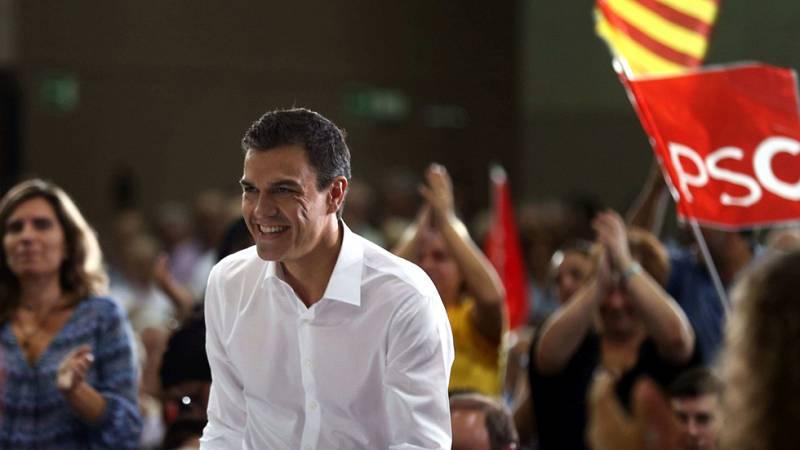 """Pedro Sánchez se ofrece para """"reconstruir la unidad de Cataluña"""" desde el Gobierno"""