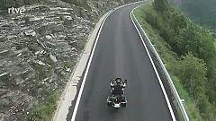 Diario de un nómada : Miquel Silvestre  por una de las pistas de los contrabandistas en Andorra